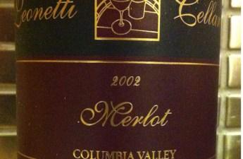 2002 Leonetti Merlot