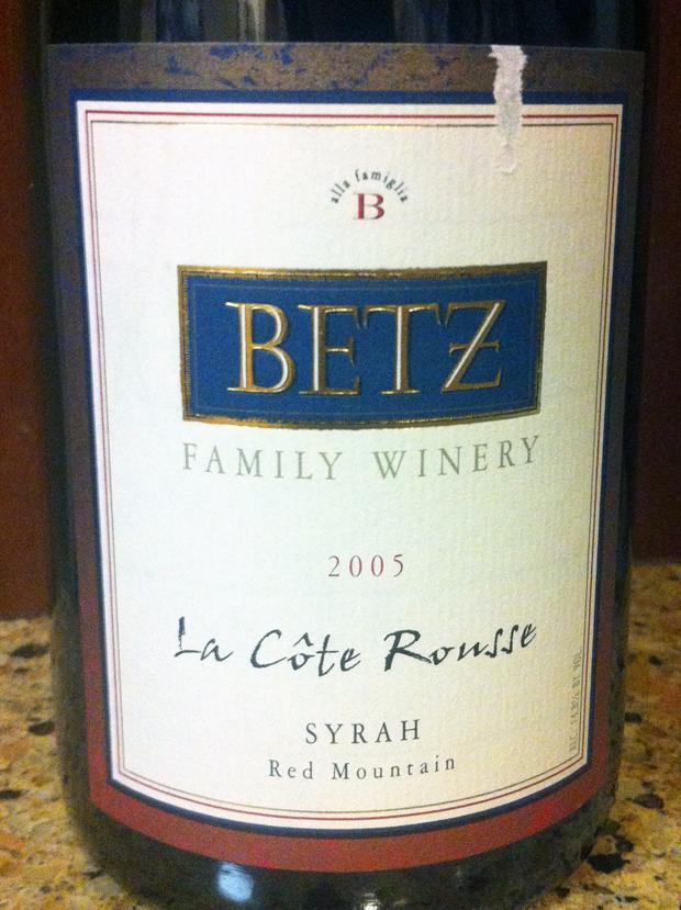 2005 Betz La Cote Rousse