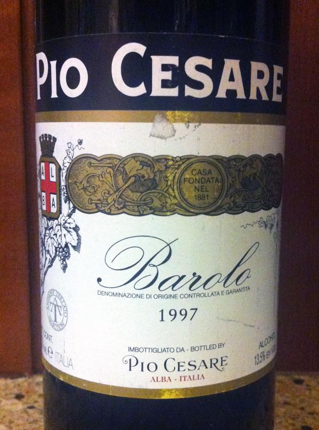 1997 Pio Cesare Barolo