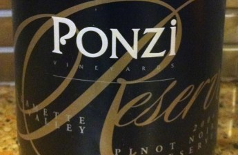 2004 Ponzi Reserve Pinot Noir
