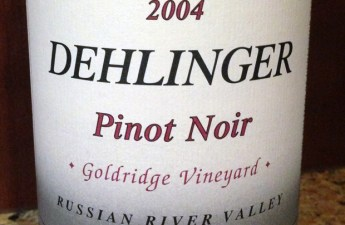 2004 Dehlinger Goldridge Vineyard Pinot Noir