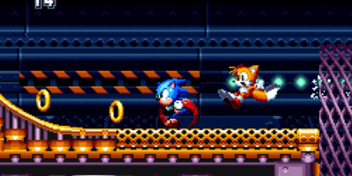 5d54904b91 Video a obrázky z jednoho úseku hry Sonic Mania – Zing