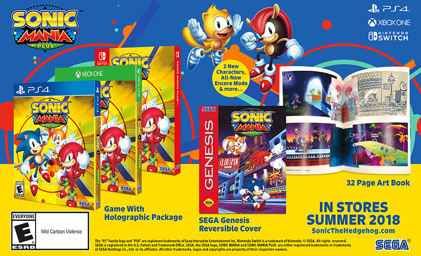 b5a8643e6a Sonic Mania Plus je rozšířená edice původní plošinovky – Zing