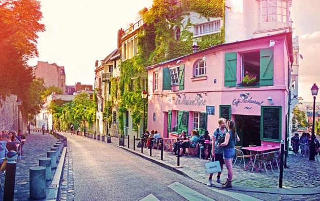 Maison Rose a Montmartre  Idee di viaggio  Zingaratecom