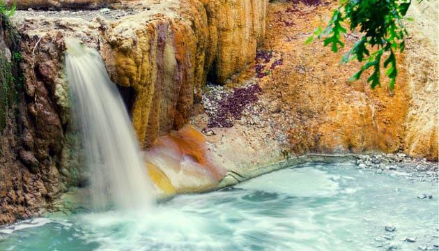 Bagni di San Filippo  Terme  Foto  Mappa  Idee di viaggio  Zingaratecom