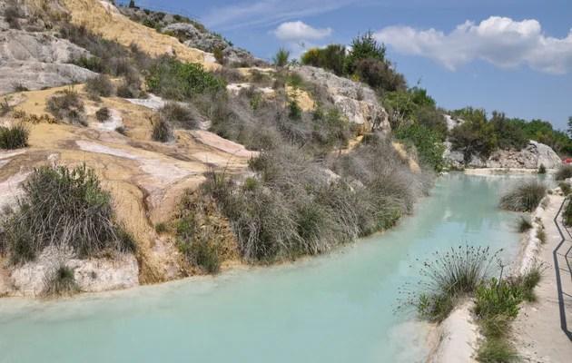 Bagno Vignoni  Terme  Terme libere  Come visitare  Idee di viaggio  Zingaratecom