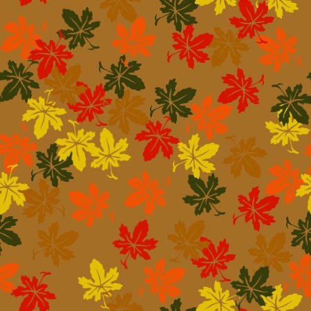 Fall Maple Leaf Tiled Wallpaper Trees Backgrounds And Codes For Twitter Friendster Xanga