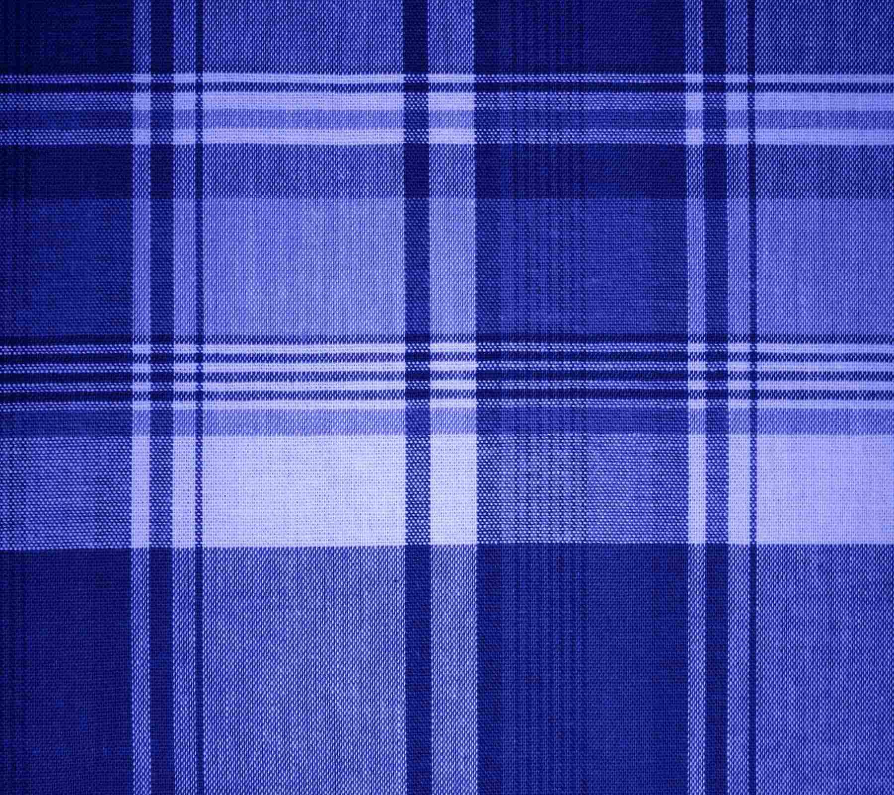 Blue Plaid Fabric Background X Background Image