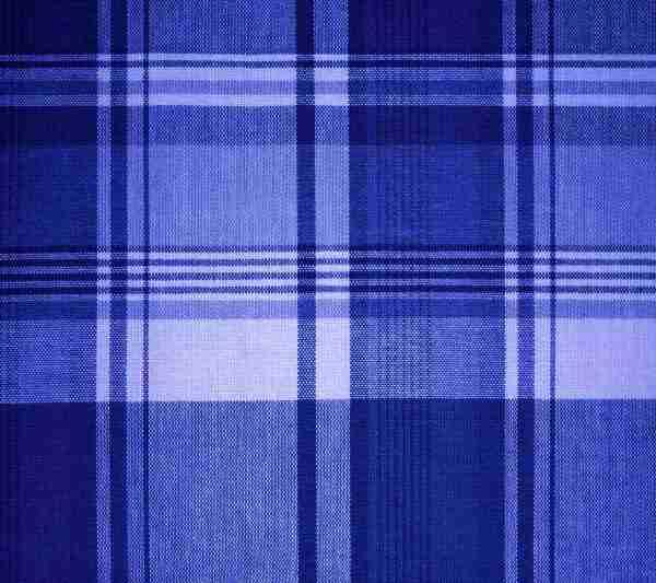 Blue Plaid Fabric Background 1800x1600