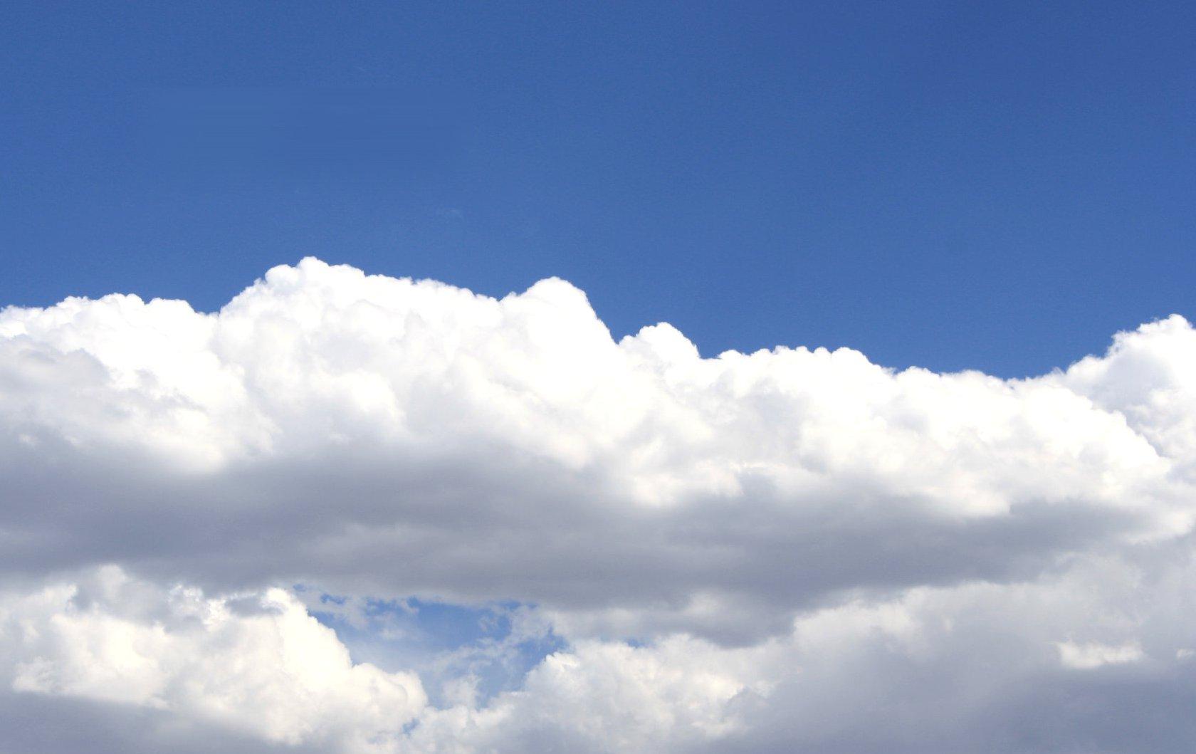 Cloud Cotton Background