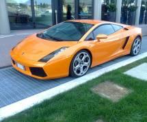 Orange Lamborghini Background Wallpaper Texture