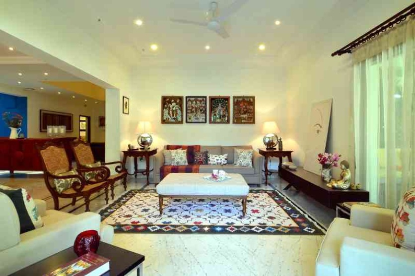 ethnic style interior decor