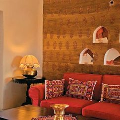 Wall To Sofa Designs India Leather Cleaner Online Rajasthani Style Interior Design Ideas, Palace Interiors ...
