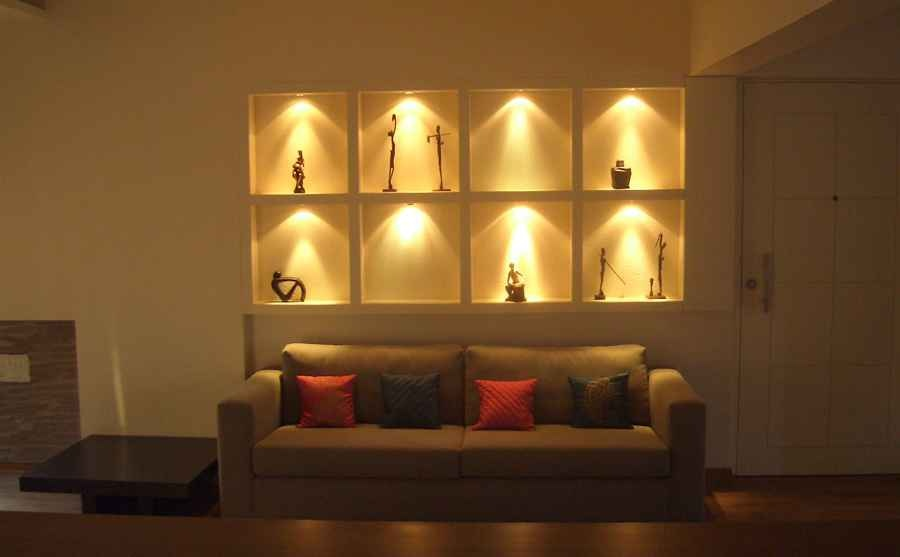 living room wall decor ideas in india i need help decorating my walls 2 bhk apt at bandra by shahen mistry, interior designer ...