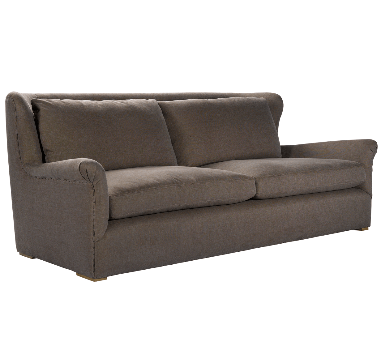how to clean belgian linen sofa george smith reviews wing back upholstered sofas and chairs zin home