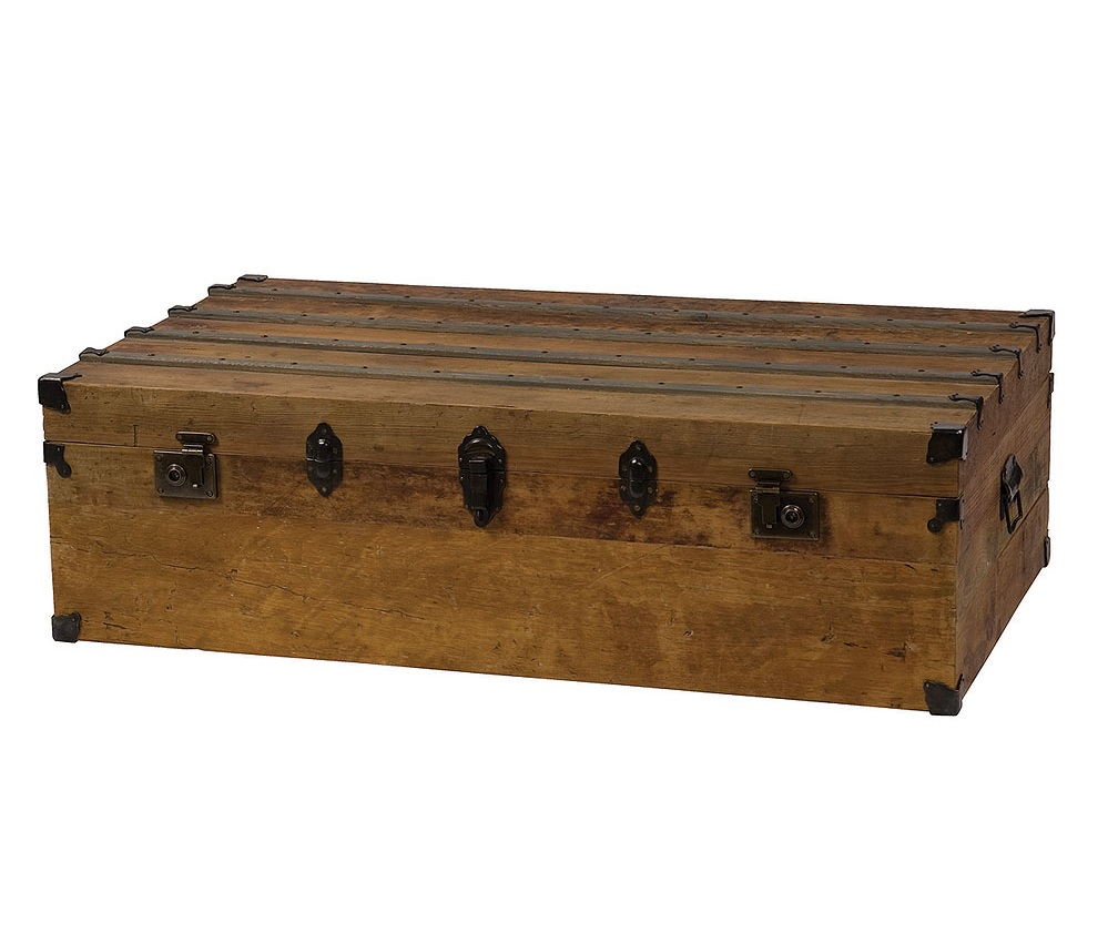 Trunk For Coffee Table