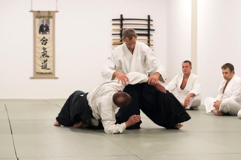 Aikido treniruotės