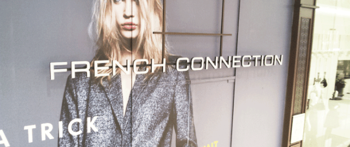 French Connection – Lichtwerbung