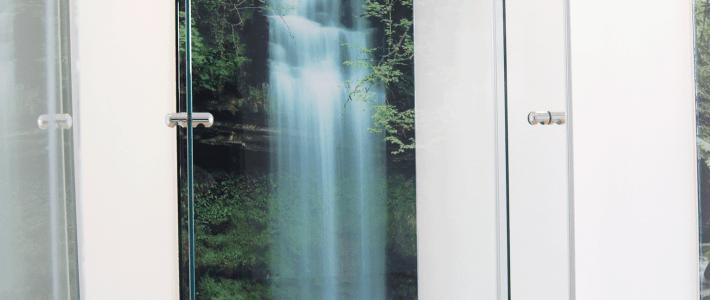 Glasbilder und Interior