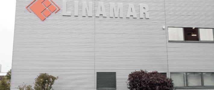 Linamar – neue Außenwerbung