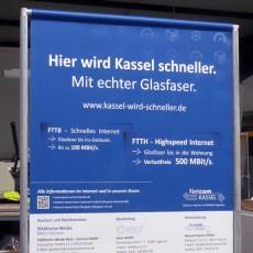 Kassel wird schneller!