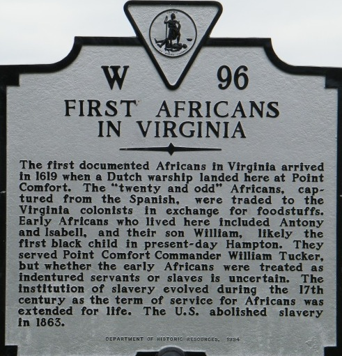 1619 project Aug. 20, 1619: Africans in Virginia - Zinn Education Project