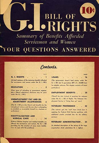 June 22, 1944: GI Bill Signed - Zinn Education Project