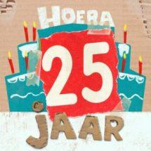 25 jaar zinnen verjaardag