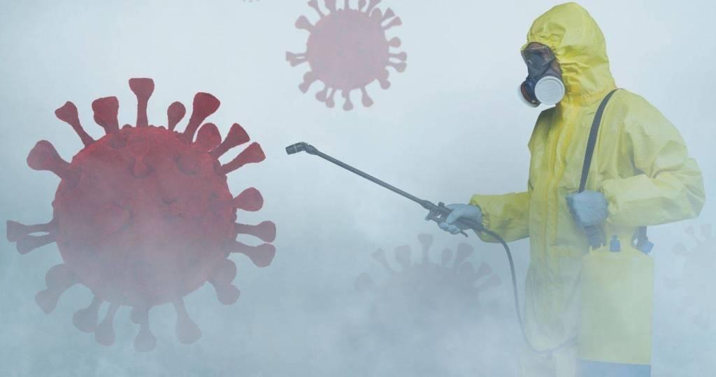 Desinfección de coronavirus