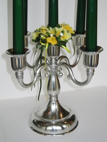Leuchter «Klassik» für 5 Kerzen