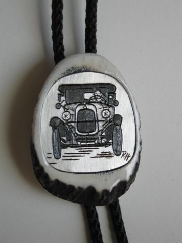 Krawattenkordel für Oldtimerfans