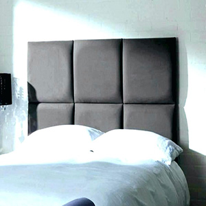 Use of french cleat to hang headboard