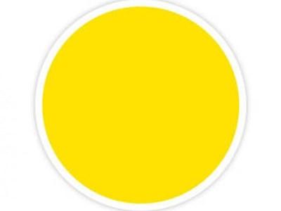 Küünlavärv kollane 5 g