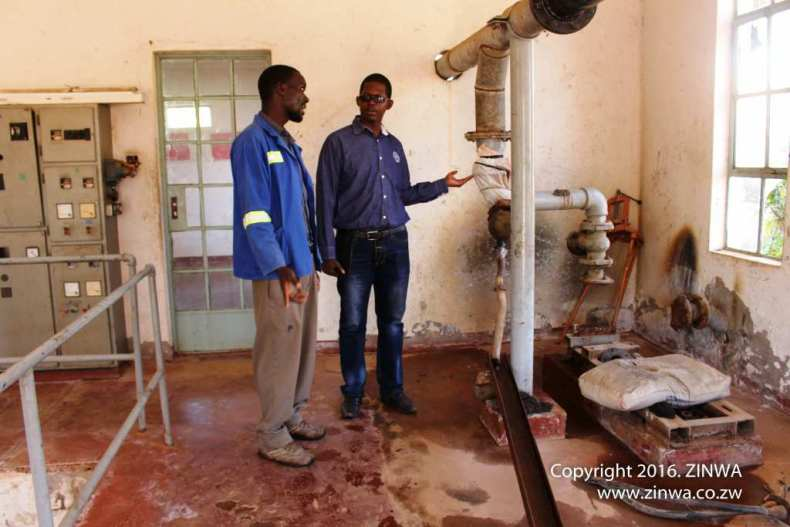 Zimunya Water Supply Station before commencement of works (3)