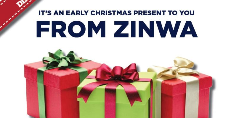 An early Christmas present from ZINWA - zinwa.co.zw