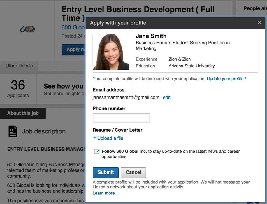 How Students Can Optimize Their LinkedIn To Land A Job