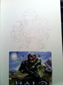 Halo Sketch Step 2