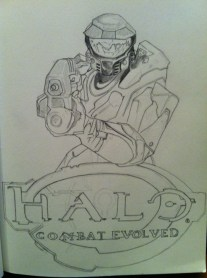 Halo Sketch Step 4