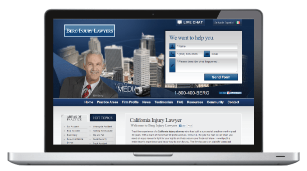 Berg Injury Law Firm Nashville SEO