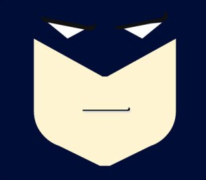 Batman Face using CSS and HTML