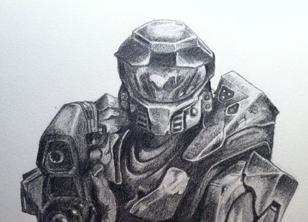 Halo Sketches