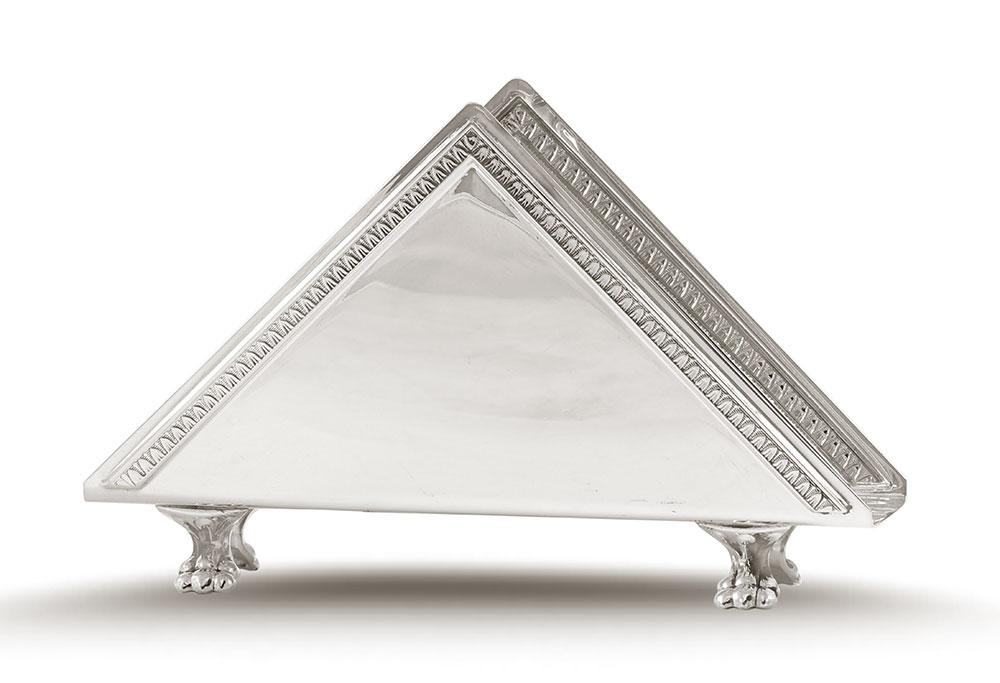 Sterling Silver Napkin Tissue Holder For Table Decor