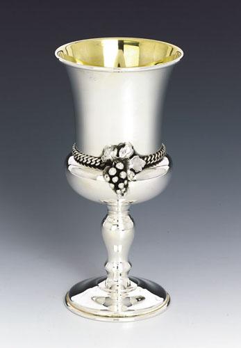 Sterling Silver Elijah Cup Grapes