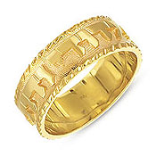 Jewish Wedding Rings Bands Ani Ledodi Gold Ring At