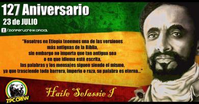 Aniversario de Haile Selassie I  –  127 años