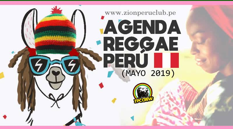 AGENDA REGGAE PERÚ MAYO 2019