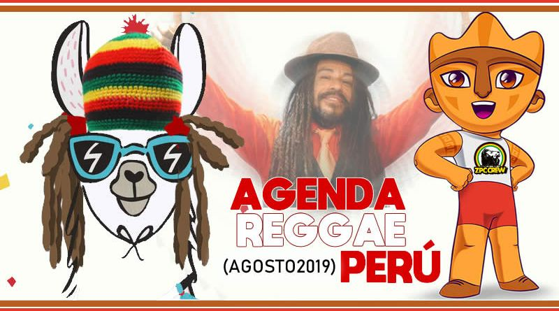 CONCIERTOS REGGAE EN PERÚ – AGOSTO 2019