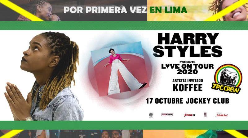 La sensación jamaiquina KOFFEE dará concierto en PERÚ