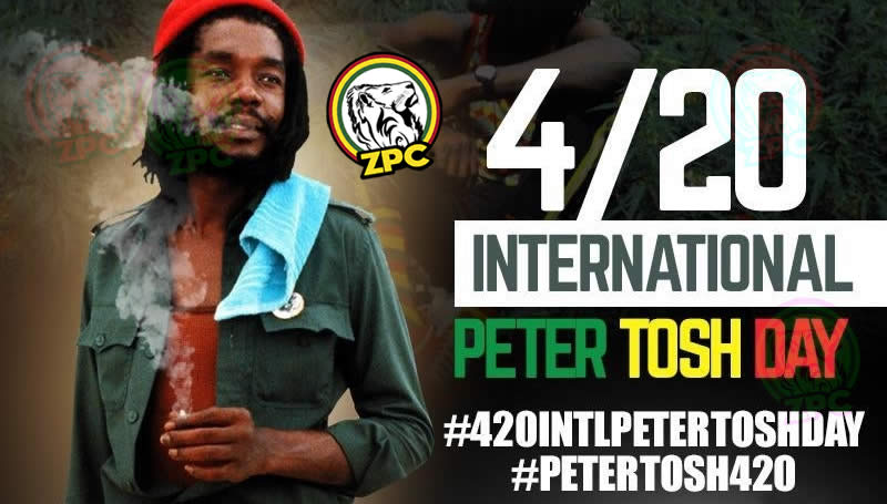 PETER TOSH DAY 420