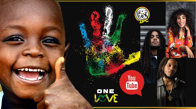 LA FAMILIA MARLEY ONE LOVE UNICEF
